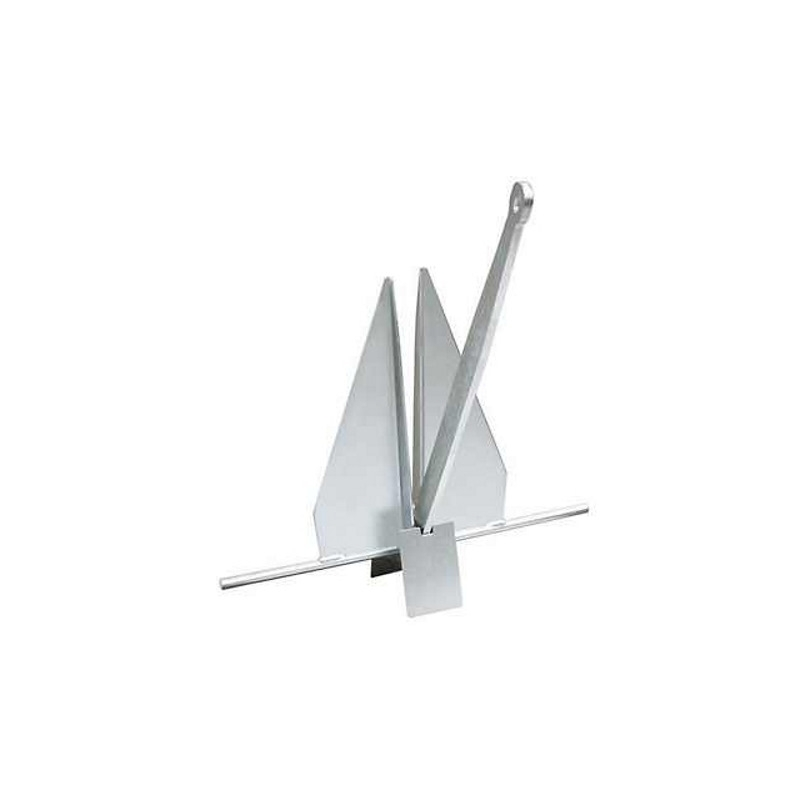 Anchor Danforth 3.6kg, galvanized steel