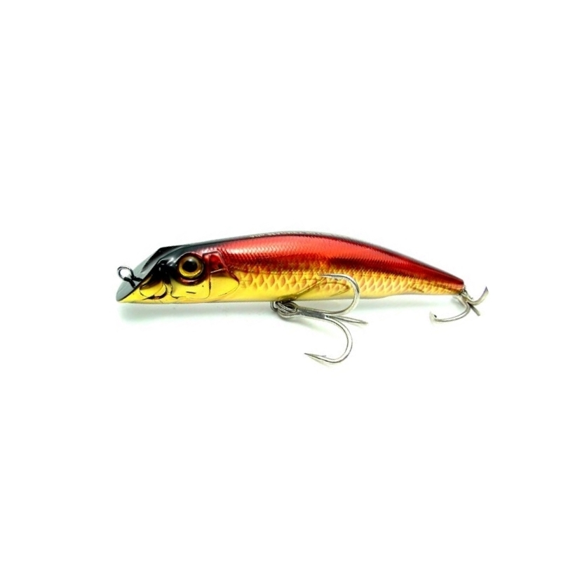 Aile Magnet 3G Lipless Minnow [105F], 18g, Holo. Gold Fluor. Red