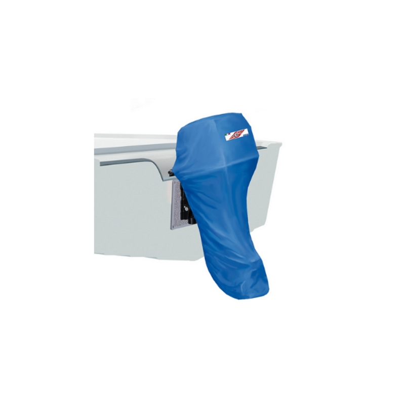 Outboard Motor Full Cover 40-60 hp, blue, 600DEN, 90 x 50 x 190cm