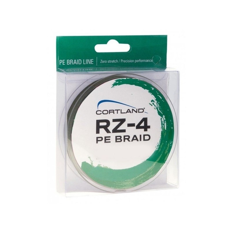 Nöörid Cortland RZ-4, 0.18 - 0.36mm, 275m, roheline