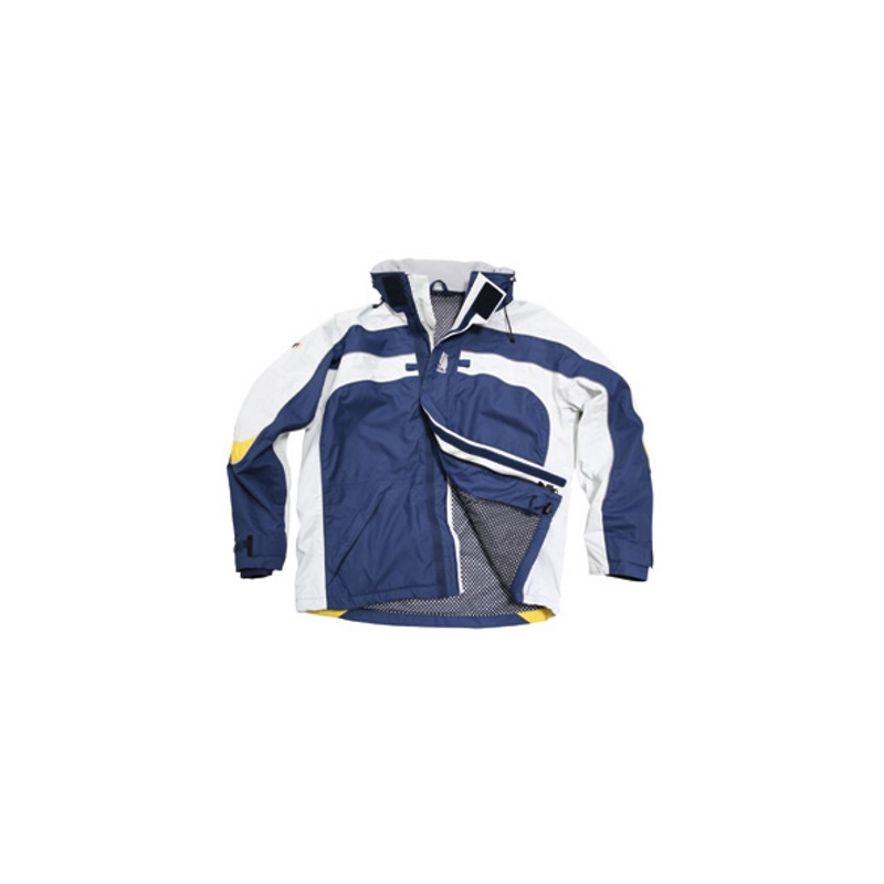 "Inshore sailing jackets ""Free sail FS Men"", breathable, navy / ice"