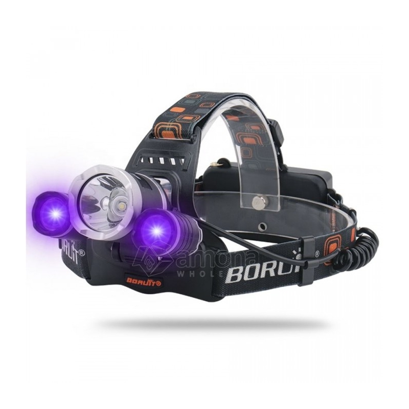 High Power LED Headlamp Boruit RJ-3000