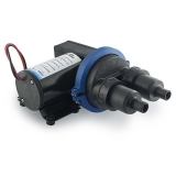Waste Water Compact Diaphragm Pump 22L/min (5.8GPM), 24V