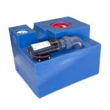 Waste Water Tank 47L (12.5G) CPL Macerator 43L/min, 12V