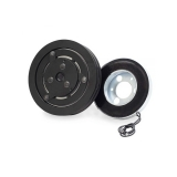 "El-Magnetic Clutch, 12V 2xA 7"" Pulley"