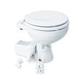 Marine Toilet Silent Electric Compact, 12V