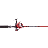 Spinning Combo Cyclone, Red/Black, 1.8m, 2-4kg (for 9-12 years old)