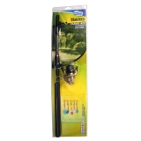 Telescopic Spinning Outfits Tracker, 2.1-2.7m, included 5 lures