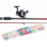 Spinning Combo Red Bone Junior, 1.8m, 5-20g, lures box included