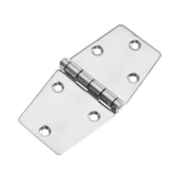 Hinge 75x150mm, AISi304, Electro Polished