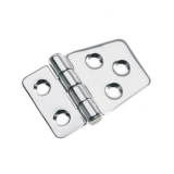 Hinge 40x59mm, AISi316, Electro Polished