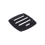 Air Vent Cover, 85x85mm, Black