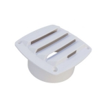 Air Vent Cover, 125x125mm, White