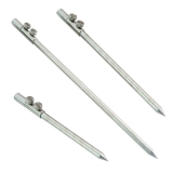 Stainless steel bank sticks 23/30/40cm