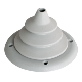 Little cable grommet, Ø105mm, White