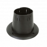 Adjustable cable grommet, Ø94mm, black