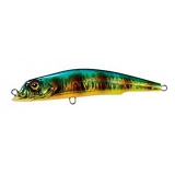 Aile Magnet 3G Lipless Minnow [105F], 18g, Holo. Zebra Gold