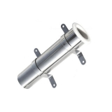 Stainless Steel Wall Mounted Rod Holder, Ø45mm