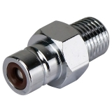 "Fuel Hose Male Connector Honda (M-LM) 1/4"" NPT, for Tank"