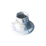Adjustable Fairlead Boot, Ø150mm, White