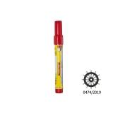 Handheld Signal ELIOS, red, SOLAS 74/96