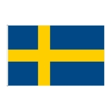 Lipp laevale, Rootsi, 20 x 30cm