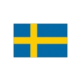 Флаг для корабля, Швеция, 30 x 45cм