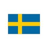 Lipp laevale, Rootsi, 30 x 45cm