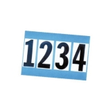 Adhesive Numbers [0 - 9] for Inflatable Boats, 200mm