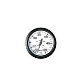 Speedometer 50 kn, 12V, 85 mm, white, CE
