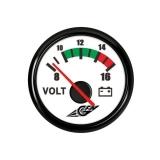Voltmeeter 10-16V, Ø53
