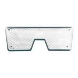 Transom Plate, 270x100mm, White, plastic