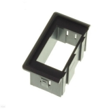 Plastic bezel for switch, right/left insert