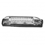 Watertight White 6 LED Light, 12V