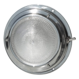 Stainless Steel Ceiling Light Ø140mm, 18 LED, 12V