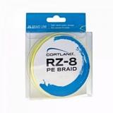 Шнуры Cortland RZ-8, 0.08-0.23мм, 135м, желтый