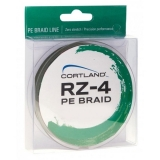 Cortland RZ-4 Braids, 0.10 - 0.23mm, 135m, green
