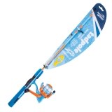 Spinning Combo Tadpole, Orange/Blue, 1.5m, 2-4kg (for 3-6 years old)