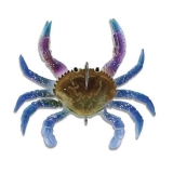 "Lure Smash Crab Junior, Blue Swimmer, 3.0"" (75mm), 18g"
