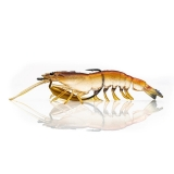 "Lure Flick Prawn, Native Prawn, 3.7"" (95mm), 10g"