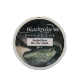 Blackridge Braided Mono Backing Line, 45m, 9.0kg, Black