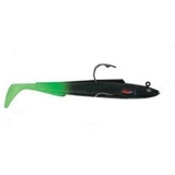 """Tazer 4"""" Black and Green Tail, 11g"""