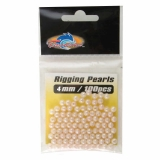 Rigging Pearls, 4mm, 100pcs/pk