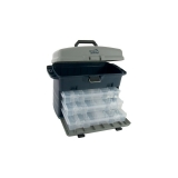Fisherman's tackle and storage box system