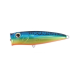 Top Water Popper [90F], Blue Mackerel/Orange Belly, 17g