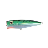 Top Water Popper [90F], Green Mackerel/Sil Orange, 17g