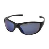 Поляризационные очки, голубые линзы, глянцевая черная оправа