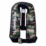 Watersnake Camo 150N Manual Inflating Life Jacket