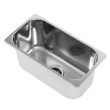 Stainless Steel Sink, 320x170 mm