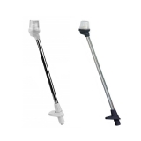 Plug in Pole Lights 360°, length 54 - 130 cm